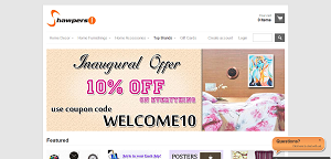 Shawpers 10% Discount Coupon For All Products December 2013