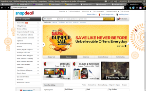 Snapdeal 15% Off Coupon Home Decor & Kitchen Appliances December 2013