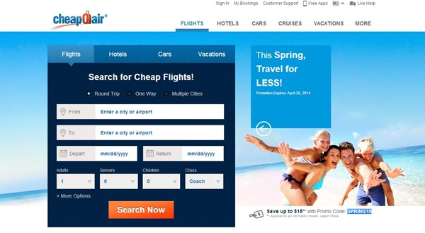 Cheap air tickets discount coupons