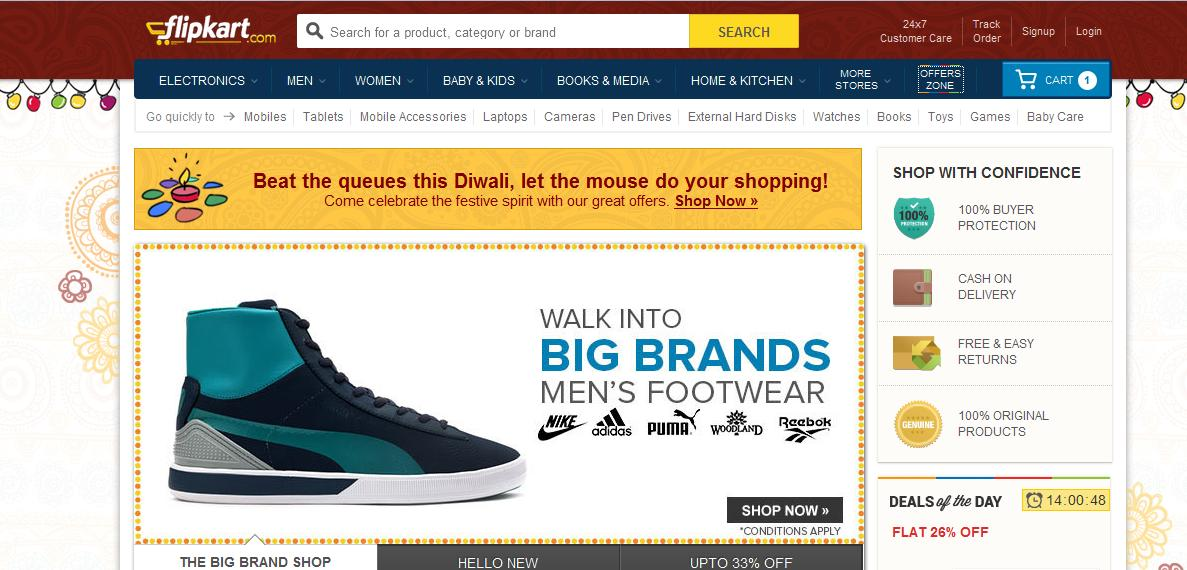 Flipkart discount coupons on shoes