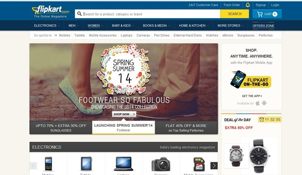Flipkart 25% Off Apparel Clothes Coupon Code April 2014