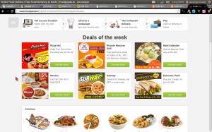 Food Panda Coupon Buy 1 get 1 pizza in Delhi & NCR December 2013