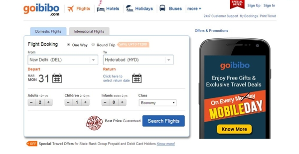 Goibibo Bookings Free Shopping Worth Rs 5000 Promo Code September 2014