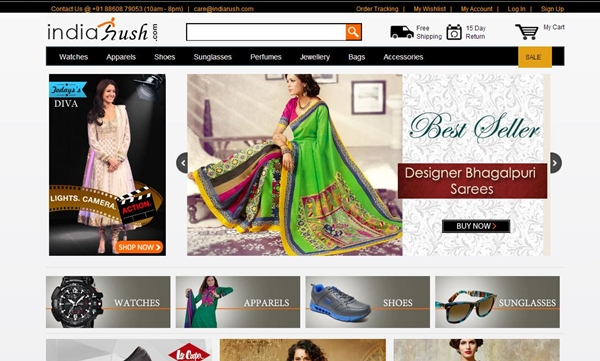 Indiarush Rs. 1000 Off on Women Apparel, Women Clothes Coupon Code March 2014