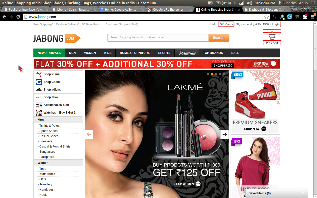 Jabong Download Free Android Apps For Easy Shopping With Smartphones