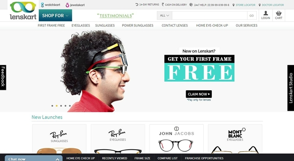 Lenskart Free First Eye-Frame Coupon Code
