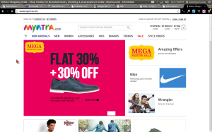 Myntra Extra 30% Off Coupon For Men & Women Cloths and Accessories